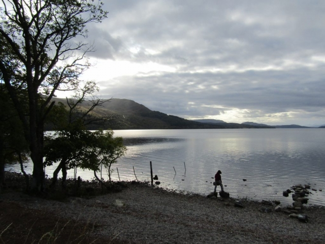 family homestay to learn english in scotland - Loch Rannoch