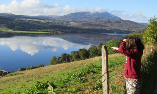 english homestay - Loch Tummel