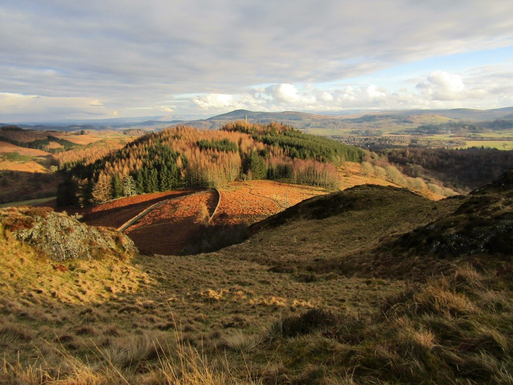 english homestays - hills near Crieff