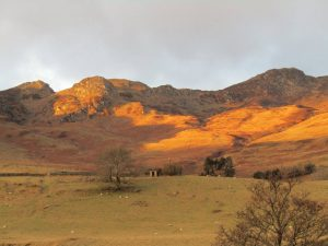 Hills near Crieff - learn English in Scotland, English course in Scotland