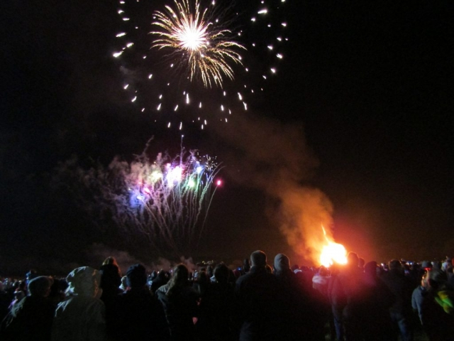 english homestay - Guy Fawkes Night