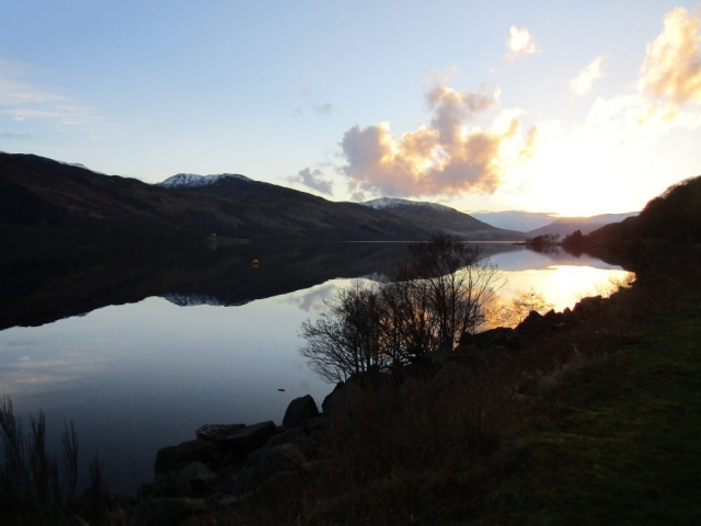 family homestay to learn english in scotland - Loch Earn