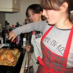 english family homestay in scotland - cooking