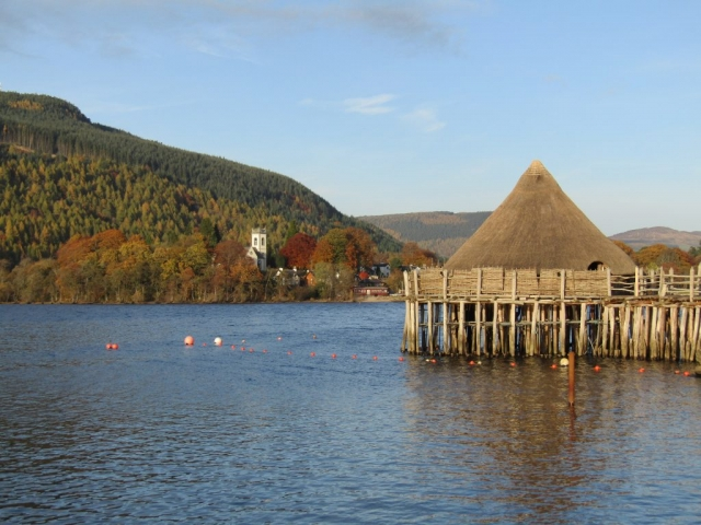 family homestay to learn english in scotland - Scottish Crannog Centre