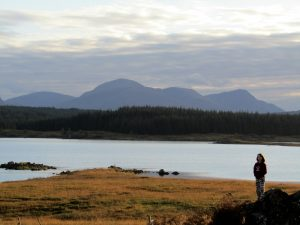 Rannoch Moor - a day trip as part of learning English