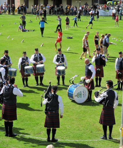 pipeband at highland games