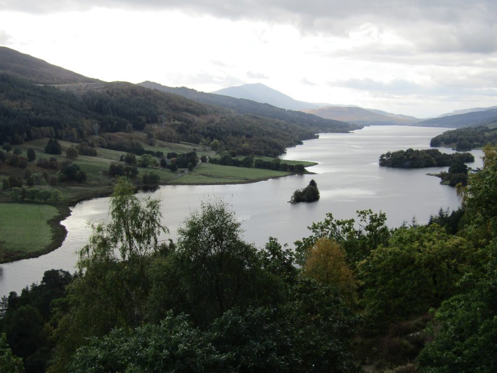 english homestay, scotland, queen's view
