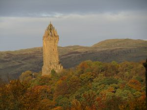 Wallace Monument - a day trip as part of learning English