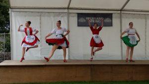 english course in Scotland - Crieff Highland Games