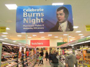 english course in scotland - Burns Night