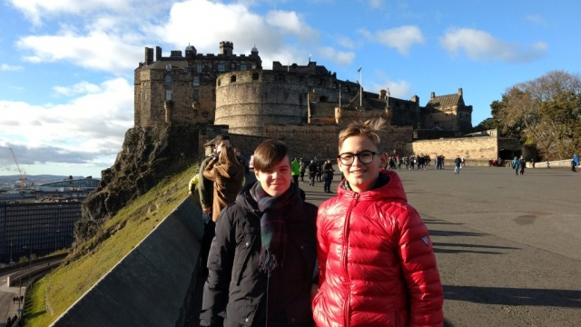 edinburgh castle - english course in scotland