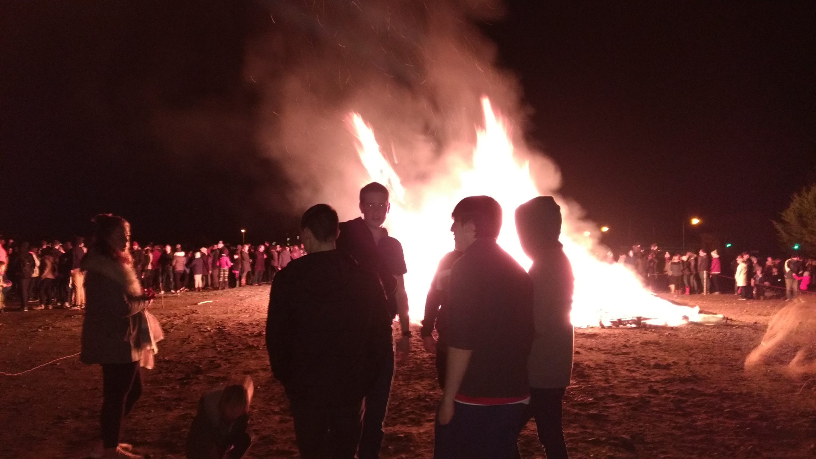 bonfire night - english course in scotland