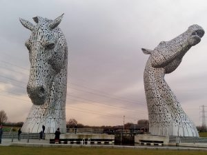 Falkirk Kelpies - learn English in Scotland