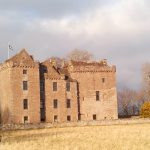 Huntingtower Castle, Crieff, English course in Scotland