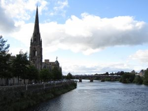 Perth, English course in Scotland