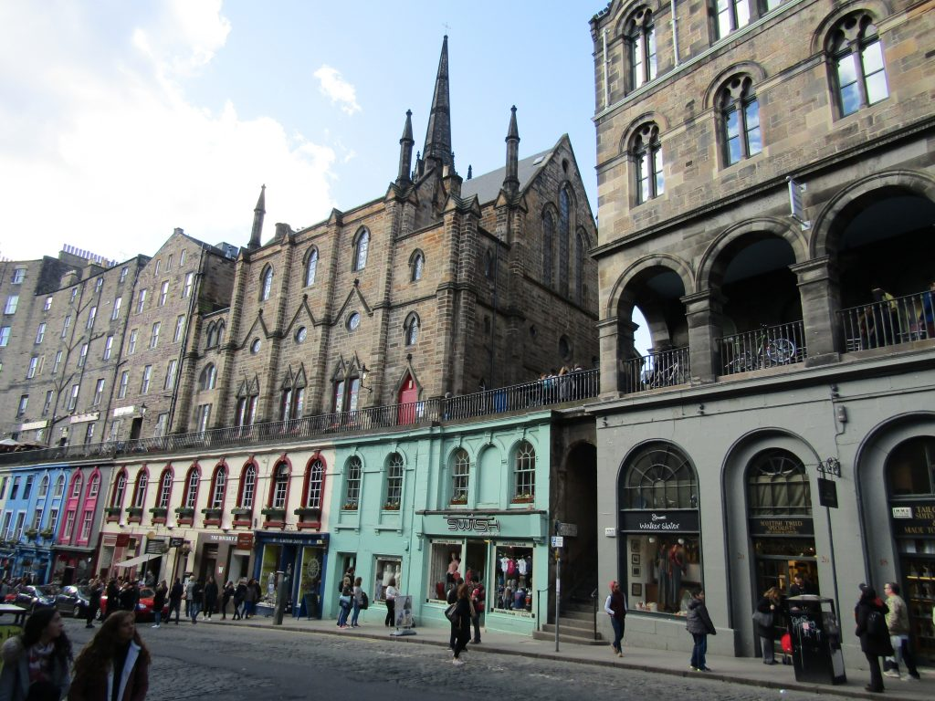 Victoria Street, Diagon Alley, Edinburgh, Harry Potter