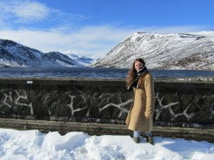 Loch Turret in snow - aprender el ingles in inglaterra