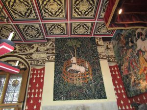 stirling castle tapestry, cours d'anglais en Ecosse