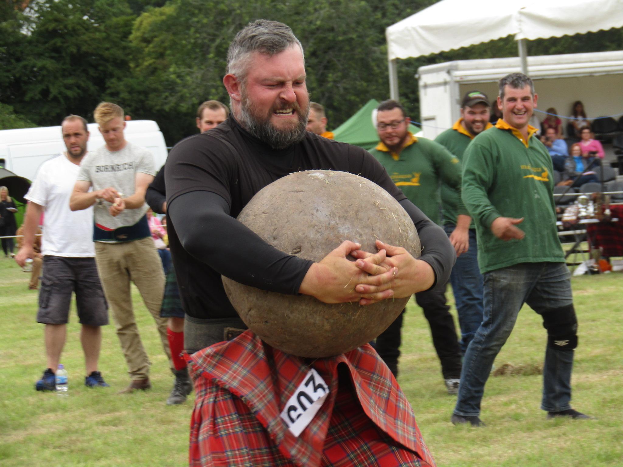 highland games, english course