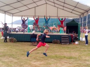 highland games, english course
