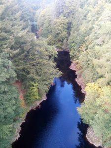 river Tummel - english course in scotland