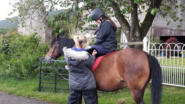 riding holiday, Scotland
